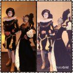 Венецианские мимы в средневековых костюмах
