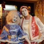 Мимы на Новогодней елке