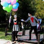 Мимы и воздушные шары