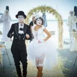 фотографии мимов на свадьбе