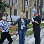 фото мимов на улицах Москвы
